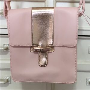 New Juicy Couture cross body faux leather purse